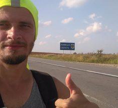 Франківець за чотири дні пішки дійшов до Львова