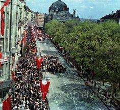 Радянський Львів 1964 року у кольорових фотографіях