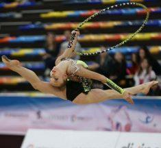 Львівська гімнастка Христина Погранична здобула п'ять медалей в Дубаї