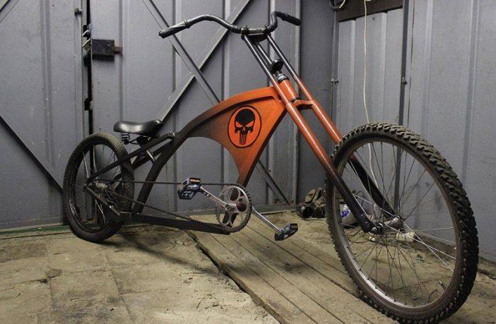 Доработка горного велосипеда своими руками 18
