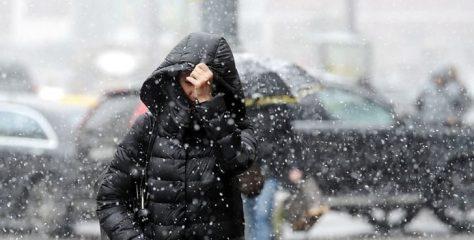 Завтра у Львові очікують дощ з мокрим снігом