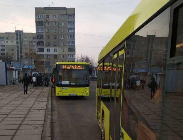 У Львові відновили маршрут №4а з новими автобусами