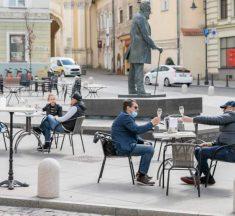 Історичний центр Вільнюса перетворюють на ресторан просто неба