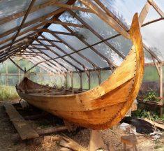 У Галичі спустять на Дністер середньовічний човен