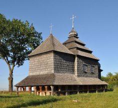 Один з найстаріших дерев'яних храмів на Львівщині